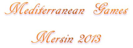 mediterranean games mersin